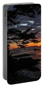 Quoddy Sunrise Portable Battery Charger by Marty Saccone