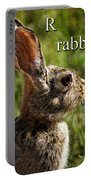 R Is For Rabbit Portable Battery Charger