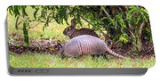 Rabbit And Armadillo Portable Battery Charger