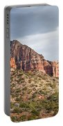 Rabbit Ears Spire At Sunset Portable Battery Charger