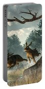 Rabbit Race Portable Battery Charger