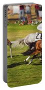 Race 6 - Del Mar Horse Race Portable Battery Charger