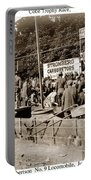 Race Cars Crown Point Indiana June 19 1909 Portable Battery Charger