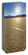 Racetrack Playa Sunset Portable Battery Charger