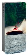Racing Speed Boat Portable Battery Charger
