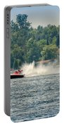 Racing Speedboats Portable Battery Charger