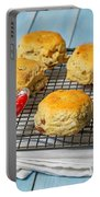 Rack Of Scones Portable Battery Charger