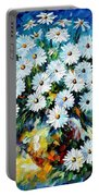 Radiance 2 - Palette Knife Oil Painting On Canvas By Leonid Afremov Portable Battery Charger