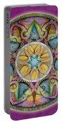 Radiant Health Mandala Portable Battery Charger