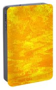 Radiating Sunshine Colors - Abstract Art Portable Battery Charger