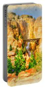 Radiator Springs Waterfall Portable Battery Charger
