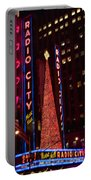 Radio City At Christmas Portable Battery Charger