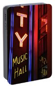 Radio City Neon Portable Battery Charger