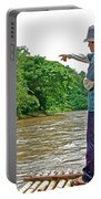 Rafting Guide On Mae Thang River Near Chiang Mai-thailand Portable Battery Charger