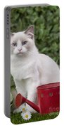Ragdoll Cat Portable Battery Charger