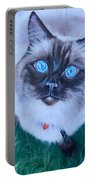 Ragdoll Portable Battery Charger