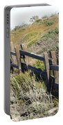 Rail Fence Black Portable Battery Charger