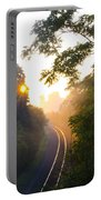 Rail Road Sunrise Portable Battery Charger