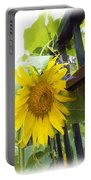 Railed Sunflower Portable Battery Charger