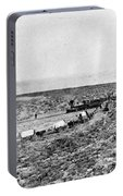 Railroad And Wagon Train Portable Battery Charger