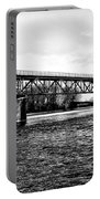 Railroad Bridge Over The Schuylkill River In Norristown Portable Battery Charger