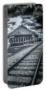Railroad Ties Marlette Michigan Portable Battery Charger