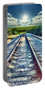 Railroad To Heaven Portable Battery Charger