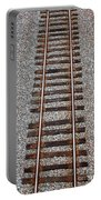 Railroad Track With Gravel Bed Portable Battery Charger