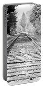 Railroad Tracks Portable Battery Charger