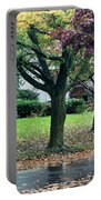 Rain And Leaf Ave Portable Battery Charger