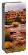 Rain At The Needles District 2 Portable Battery Charger