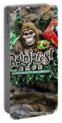 Rain Forest Cafe Signage Walt Disney World Portable Battery Charger