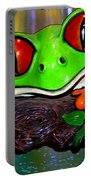 Rain Forest Frog Portable Battery Charger