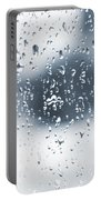 Rain In Winter Portable Battery Charger