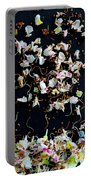 Rain Of Petals Portable Battery Charger