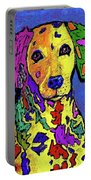 Rainbow Dalmatian Portable Battery Charger
