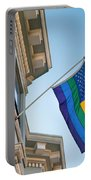 Rainbow Flag Marriage Equality Portable Battery Charger