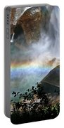 Rainbow In The Mist Portable Battery Charger