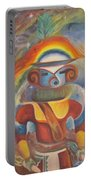 Rainbow Kachina Portable Battery Charger