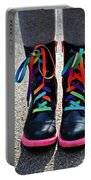 Rainbow Laces Portable Battery Charger