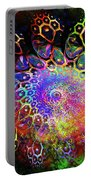 Rainbow Leopard Portable Battery Charger