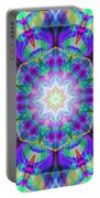 Rainbow Lotus Portable Battery Charger