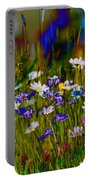Rainbow Meadow Portable Battery Charger