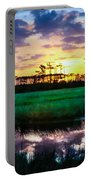 Rainbow Morning Marsh Portable Battery Charger