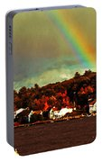 Rainbow Over Winnipesaukee Two Portable Battery Charger