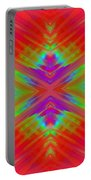 Rainbow Passion Abstract 1 Portable Battery Charger
