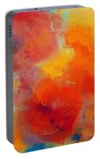 Rainbow Passion - Abstract - Digital Painting Portable Battery Charger