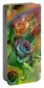 Rainbow Roses Portable Battery Charger
