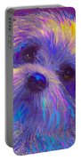 Rainbow Shih Tzu Portable Battery Charger