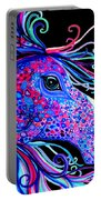 Rainbow Spotted Horse2 Portable Battery Charger